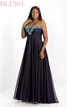 2014 Plus Size Prom Dresses For a Curvy Figure (24 Pictures) - Snappy Pixels