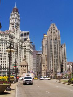 Chicago Chicago, My Kind Of Town, City Life, Classic Style, New York Skyline, Street View, Places, Sweet, Photography