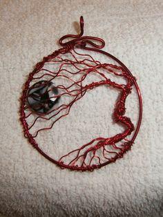 tree of life windswept pendant by ksuecsr