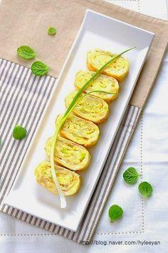 백종원 계란말이~계란말이 만드는법,백종원레시피 Zucchini, Vegetables, Recipes, Food, Food Food, Recipies, Essen, Vegetable Recipes, Meals