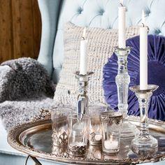 Inspiración para decorar con las portavelas de la marca sueca Affari #shopnordico #decoraciónnordica #affari