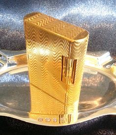 S. T. DUPONT LIGHTER  Baalbek Soubreny  18 by STUNNINGCOLLECTIBLES