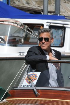George Clooney  in Venice 2013
