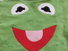 Kermit the Frog Baby Bib Made to Order by AiTenshi on Etsy, $10.00