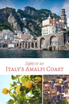 """Highlights of the coast are Sorrento, Positano, Capri, Ravelo and Pompeii. Each day spent in any of these places is an endless feast of sights and taste. Learn more about travel inspiration from Italy at https://www.shelbydillonstudio.com/blogs/news/exotic-travel-product-inspiration-limoncello-collection-the-amalfi-coast"