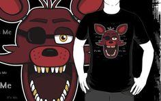 =======Shirt for Sale======= Foxy Head - It's Me by Kaiserin ======================= #freddy #fnaf #fnaf2 #fnaf3 #fivenightsatfreddys #foxy #chica #bonnie #securityguy #mangle #logo #goldenfreddy #shadowbonnie #toybonnie #toychica #endoskeleton #toychica #puppet #goldenbonnie
