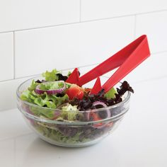 Pointer - Salad tongs by Peleg Design-Kitchen gadgets for fun cooking at Monkey Business