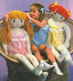 Cloth Doll Pattern Free | good rag doll should be large enough to cuddle, but small enough to ...