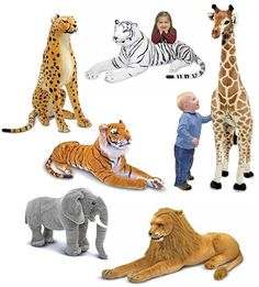 Go On A Stuffed Animal Safari You Don T Need Giant Animals Like These Smaller Ones Work Just As Well