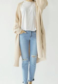 nice Wrap Knit Cardigan - Top
