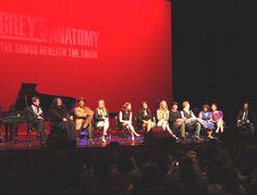 Grey's Anatomy cast - The Songs Beneath The Show