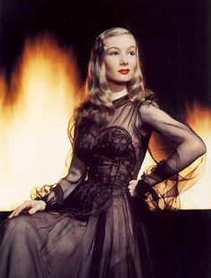 "Veronica Lake, ""I Married a Witch"""