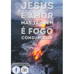 """O AVISO DE DEUS 1: """"Dou poder para que sejam filhos"""" Hebreus 12:29 Porque o nosso Deus é um fogo consumidor."""