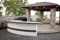 San Diego Landscaper, Western Outdoor Design Build, BBQ Island Outdoor Kitchens  A barbeque island or outdoor kitchen can give your backyard that WOW factor you have been searching for. Western Outdoor Design and Build isn't your run-of-the-mill general contractor, and we won't propose a run-of-the-mill design plan! We create luxurious custom outdoor living spaces- and we are truly masters of our craft.