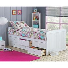 Buy Lennox 6 Drawer Cabin Bed - White at Argos.co.uk - Your Online Shop for Children's beds, Children's beds.