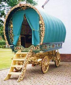 English Gypsy caravan, Gypsy wagon, Gypsy waggon and vardo: Photo Gallery 6
