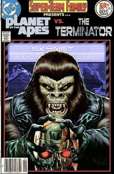 Super-Team Family: The Lost Issues!: Planet of the Apes Vs. The Terminator