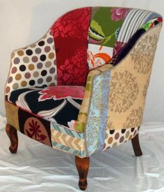 unique chair design by Kelly Swallow