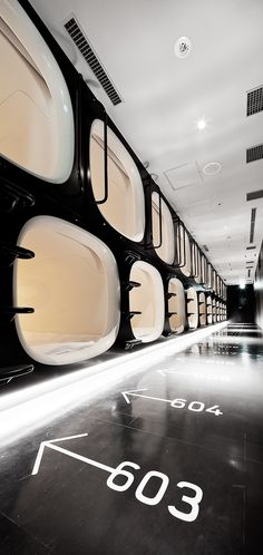 9h   Nine Hours Capsule Hotel   Kyoto On Behance