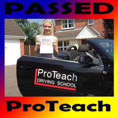 Passed 17th July 2013   Congratulations goes to Louise Findler on passing her driving test today 17th July in Burton on Trent.   Louise passed on her first attempt with only 3 driving faults after taking her driving lessons in Burton on Trent with ProTeach Driving School.   Massive well done, now get that insurance sorted and get out on the roads. Good luck with the new job and take care.  www.proteachdrivinglessons.co.uk
