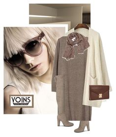 """""""Yoins 39"""" by chebear ❤ liked on Polyvore featuring mode, Kershaw et yoins"""