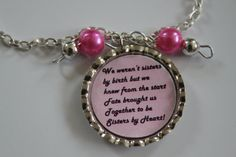 Maid of Honor Necklace Gift SISTER GIFT  by LifeBeautifulJourney, $15.50