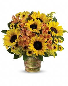 nice Grand Sunshine Bouquet Check more at http://calgaryflowersdelivery.com/product/grand-sunshine-bouquet-send-flowers-to-calgary-by-calgary-flowers/