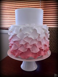 Couture Cupcakes & Cookies: Paige's Christening fondant frills