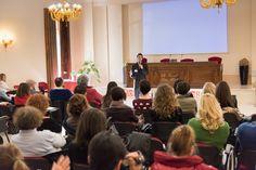 Il coach motivazionale Giancarlo Fornei a Villa Fenaroli (Rezzato di Brescia), durante un suo seminario motivazionale - marzo 2015