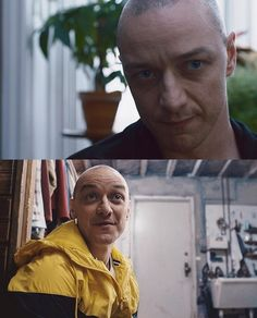 "James in ""Split"". Watch the trailer now!"