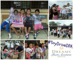 Calling all Dreamers headed to Dreams Puerto Vallarta this spring: Bring a new toy to donate to our annual toy drives for the children in nearby San Juan de Dios! #ToyDriveDPA