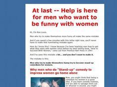 How To Be Funny With Women We Love 2 Promote http://welove2promote.com/product/how-to-be-funny-with-women/    #promotion