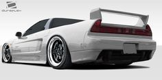 1991-2001 Acura NSX Duraflex BS Design Rear Add On Bumper Extensions - 2 Piece