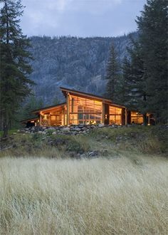 Canyon House by Balance Associates Architects