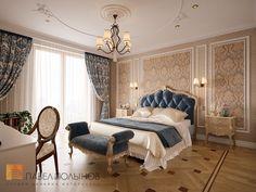Фото: Спальня - Квартира в классическом стиле, ЖК «Привилегия», 135 кв.м.