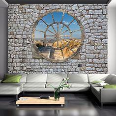 Vlies Fototapete 400x280 cm - 3 Farben zur Auswahl - Top - Tapete - Wandbilder XXL - Wandbild - Bild - Fototapeten - Tapeten - Wandtapete - Wand - New York City Stadt Architektur Fenster Ziegel Holz Strand Sepia geometrische Figuren d-A-0008-a-d Fototapete http://www.amazon.de/dp/B00TX61YQG/ref=cm_sw_r_pi_dp_Z7U2wb1WHB8RB