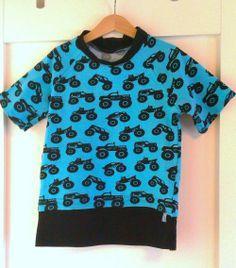 T-shirt with monstertrucks