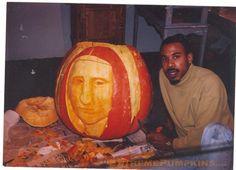 The Mona Lisa Pumpkin