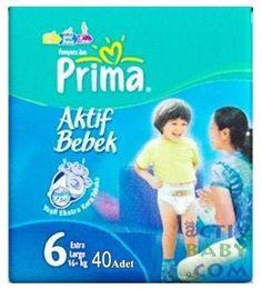 Prima Çocuk Bezi No 6 Extra Large 16  kg 40 Adet -Mega Paket