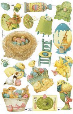 Easter images by Marjolein Bastin Easter Art, Easter Crafts, Easter Bunny, Easter Eggs, Easter Illustration, Marjolein Bastin, Nature Artists, Easter Pictures, Easter Printables