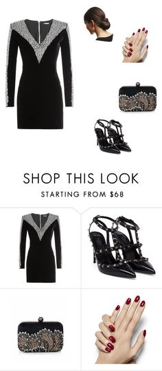 """Untitled #141"" by angel000 on Polyvore featuring Balmain and Valentino"