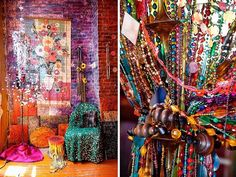 Gerald DeCock's Colourful Hippie Heaven (NY City/ New York): http://curious-places.blogspot.com/2016/08/gerald-decocks-colourful-hippie-heaven.html