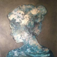 """Beauty is skin deep; inner beauty is what really counts"" Art by Margo van Erkelens...  http://artf.in/SHvZAQ by @artfinder_com"