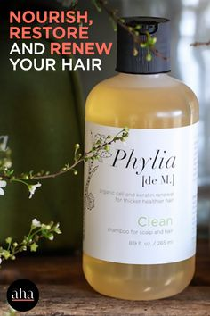Nourish, restore and renew your hair's natural keratin bond from root to tip thanks to the revolutionary science of Phylia De M. Hair care. Infused with ancient Aztec and Mayan herbs, this #organic shampoo uplifts the hair and restores follicle health by clearing away damaging toxins. Natural Hair Styles For Black Women, Long Hair Styles, Ancient Aztecs, Good Shampoo And Conditioner, Organic Shampoo, Best Shampoos, Keratin, Beauty Hacks, Beauty Tips