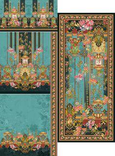 Rendom Collection 2021 on Behance Design Seeds, Border Design, Online Boutiques, Textile Design, Print Patterns, Floral Prints, Thistles, Textiles, Quilts