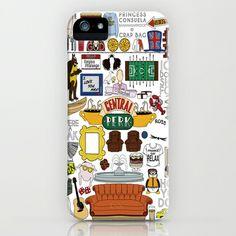 Friends TV Show Print iPhone & iPod Case