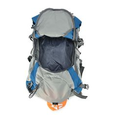 5dabe7bf79 Tofine External Frame Backpack Waterproof Backpacking with Rain Cover Gear  Blue 32 Liter Mountaineering Bag     More info could be found at the image  url.