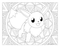 Coloriage Adulte Pokemon Mandala Pikachu Adulte Coloriage