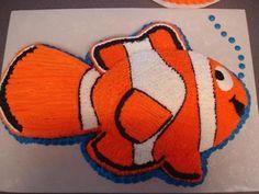 Finding Nemo Birthday Cake and Cupcake Decorating Ideas