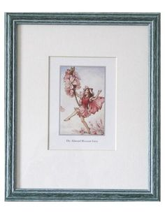 Flower Fairies, Almond Blossom Fairy Print